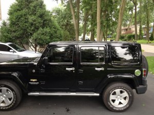 2012 Jeep Wrangler two fronts to match back windows