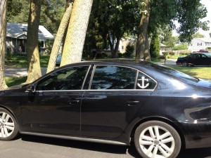 Tinted VW Jetta
